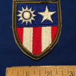 China-Burma-India CBI patch - front