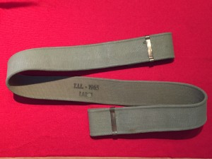 P37 web belt 1965 LARGE