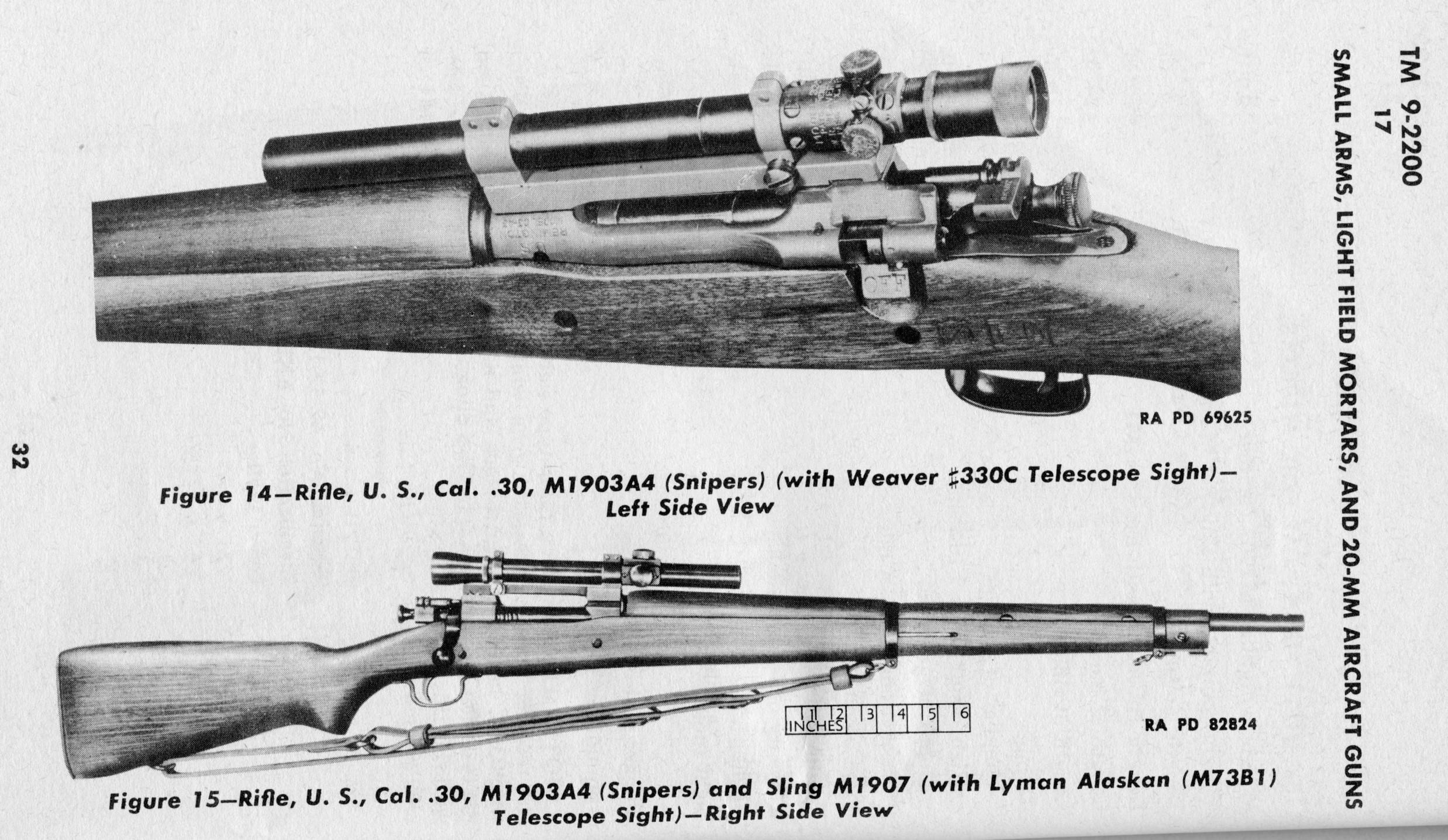U S M A4 Sniper Rifle Ptainstevens
