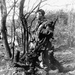 Sniper of a Para Bn 6 AB Div (Go To It! p150; IWM)