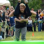 Scandinavian Midsummer Festival 2016-06-19 033 Wife carrying contest - My Viking ancestors could do this, so can I.