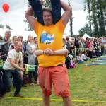Scandinavian Midsummer Festival 2016-06-19 092 Wife Carrying Contest - We made it