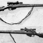 Standard British No. 4 (T) sniper rifle. WWII British snipers WBSTTR - Shore 1948 fp 150 top