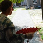 Fort Nisqually Brigade Days 2016 AUG (102) Maid in the shade