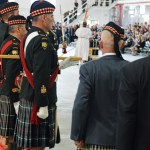 (288) Regimental Sergeant Major on left.