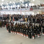 (322) Three cheers for the return to the Seaforth Armoury.
