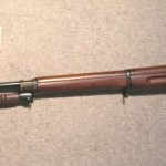 M1917 Winchester left side of M1917 and its bayonet.