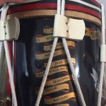 Drum, Seaforth Highlanders - Scotland Souvenir painting not service. Battle Honours 2