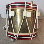 Drum, Seaforth Highlanders - Scotland Souvenir painting not service. Back.