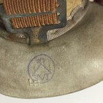 Canadian Army driver's goggles - WWII & Korean War - Technical Inspection mark and maker's mark.