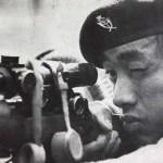Gurkha sniper aiming his L42A1 sniper rifle.