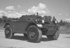 Ferret 54-82611 in 1973 (DND EE73-1603)
