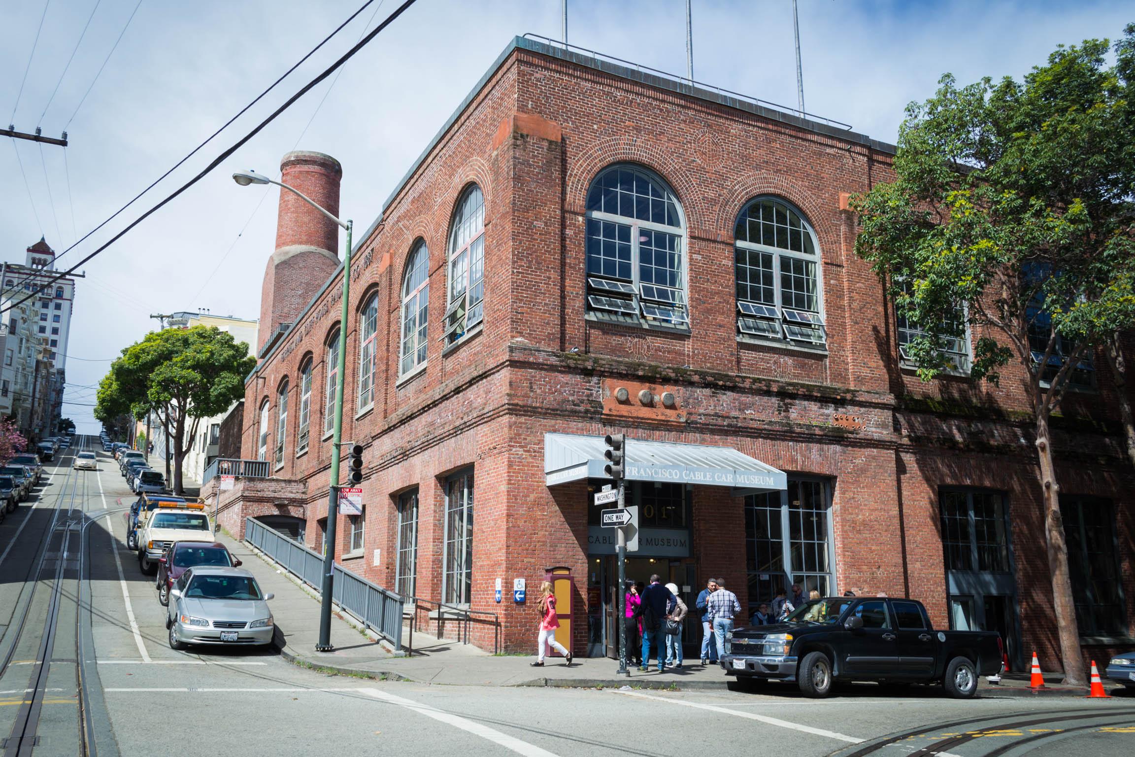 Le musée du Cable Car situé à l'angle de Mason et de Washington St