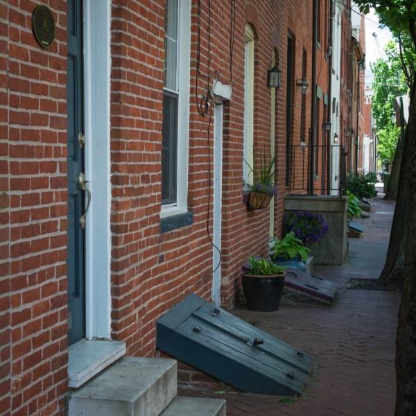 Les quartiers résidentiels sont typiques de l'architecture de la région