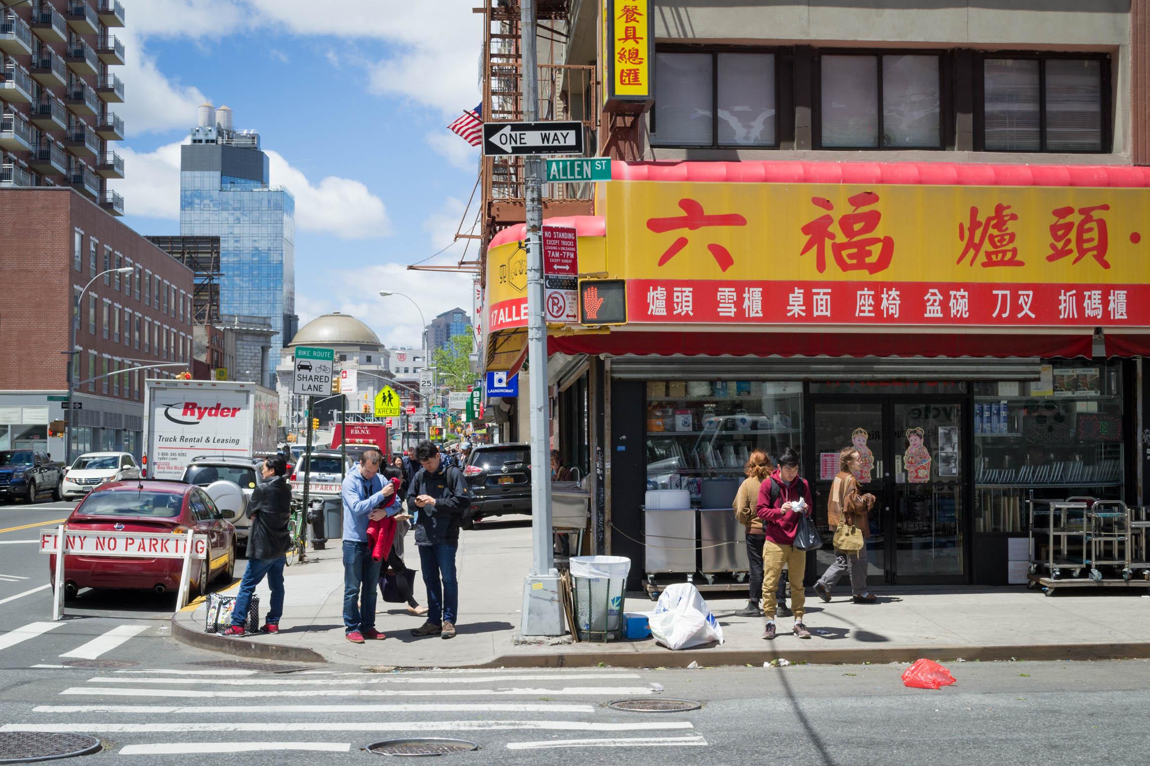 La Chine est à tous les coins de rue à Chinatown