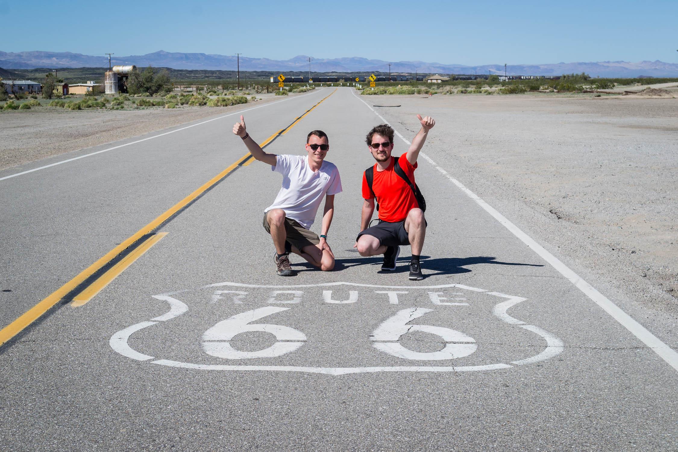 En louant une voiture, vous roulerez sûrement sur la Route 66, même sans GPS !