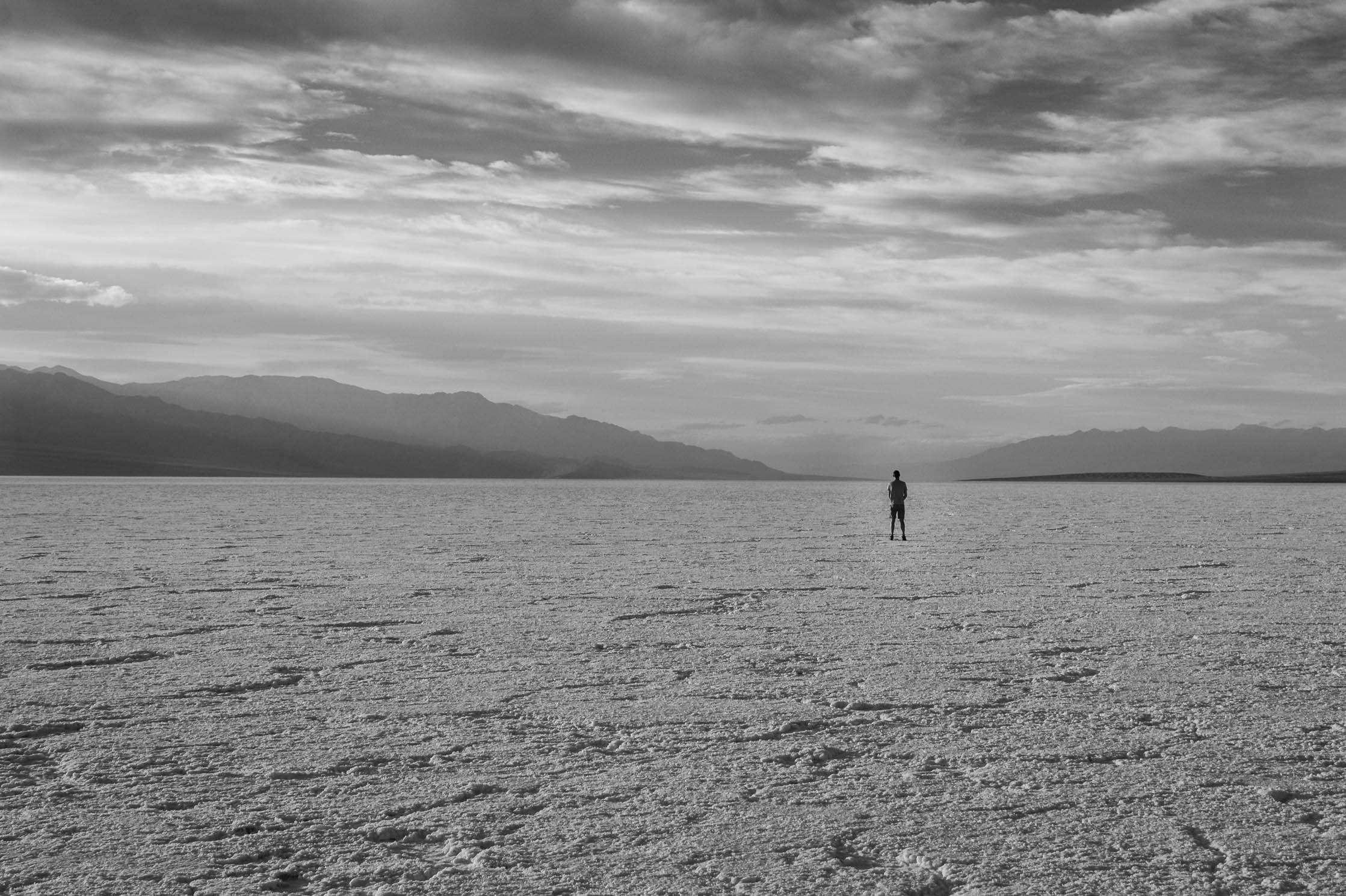 (Presque) seul sur le désert de sel