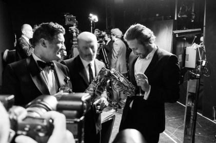 Jacques Audiard & Matthias Schoenaerts en coulisse