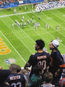 Match des Bears au Soldier Field Stadium