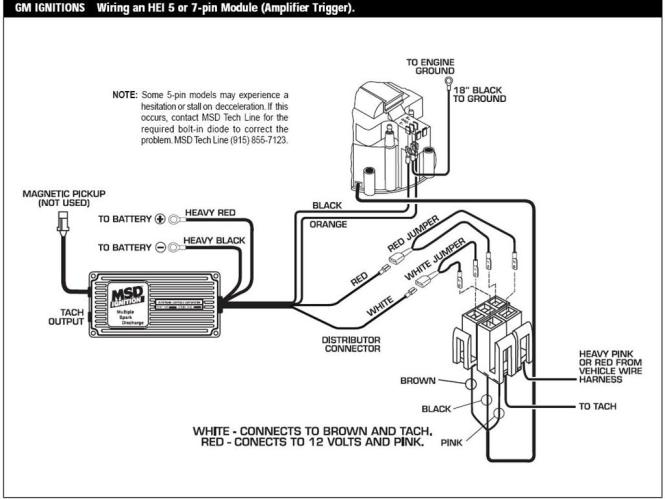 wiring diagram hei distributor gm wiring diagram gm points distributor wiring diagram image about