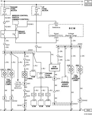 Rear light wiring diagram  Chevrolet Owners Club Forum