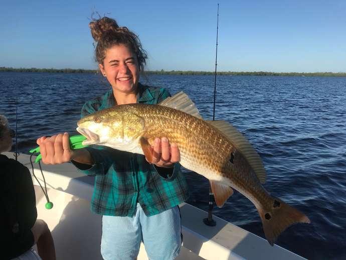 Redfish, Sanibel Fishing & Captiva Fishing, Sanibel Island, Friday, December 15, 2017, [File Photo - Sunday, October 22, 2017].