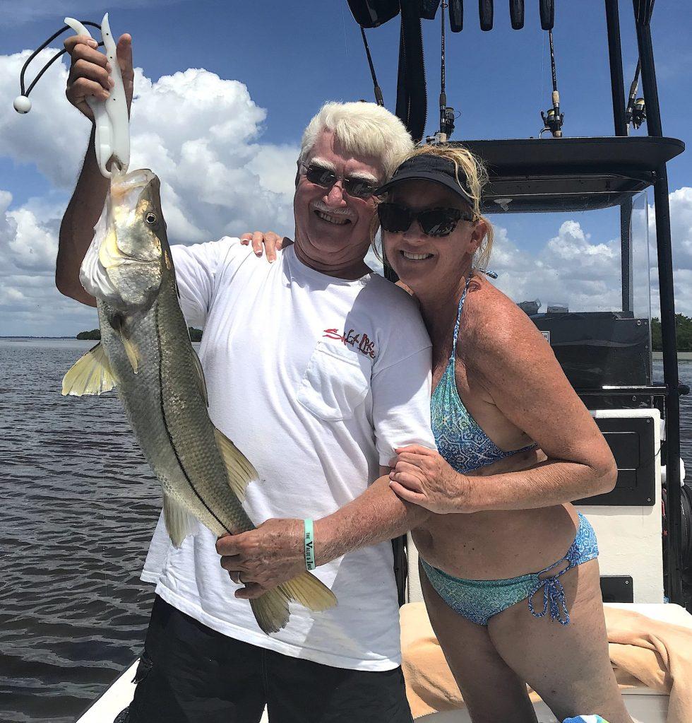 Snook, Catch & Release, Sanibel Island Fishing Charters & Captiva Island Fishing Charters, Sanibel Island, Thursday, September 6, 2018.
