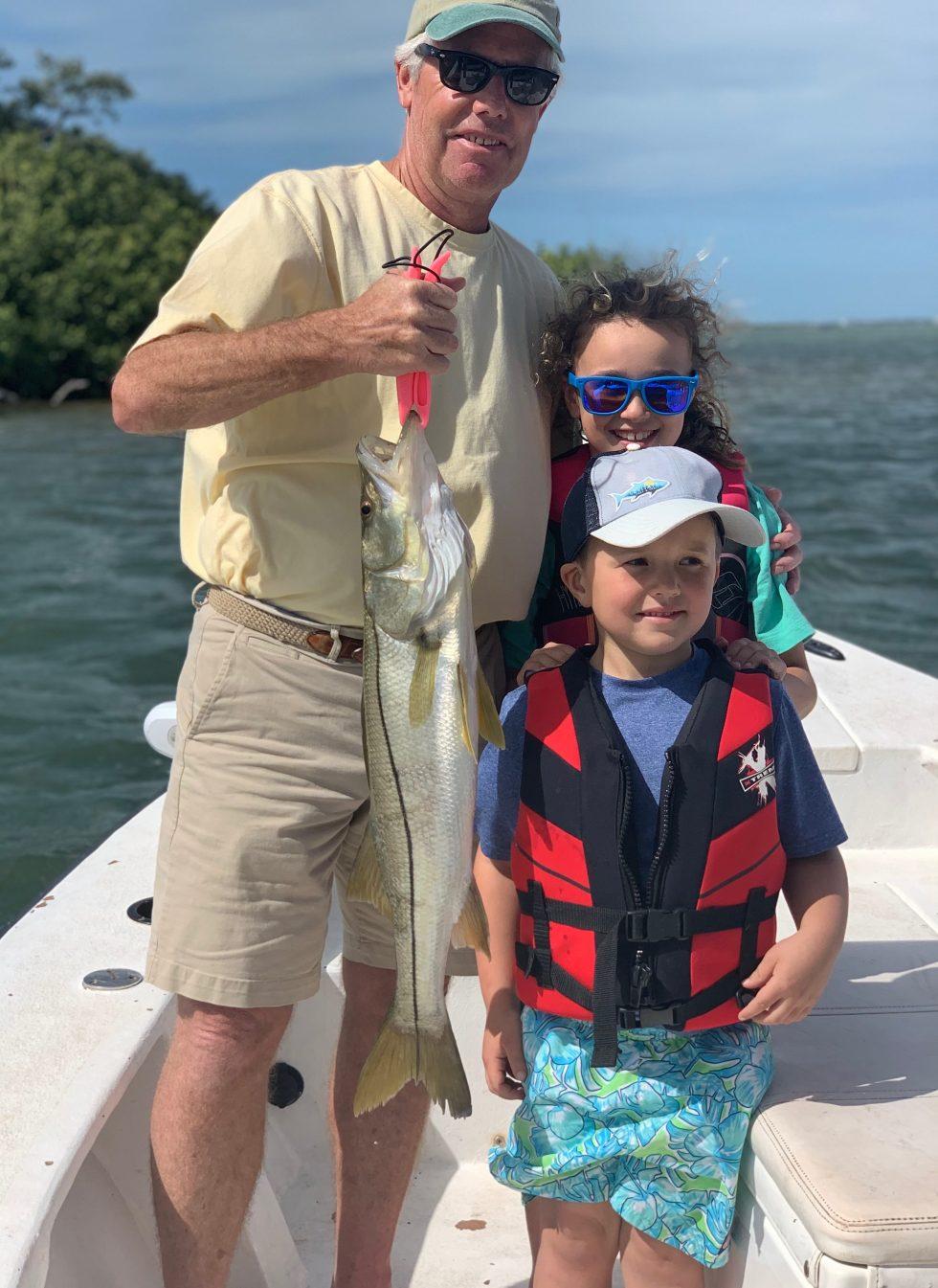 Snook, Sanibel Island Fishing, Catch & Release, Captiva Island, Monday, February 25, 2019.