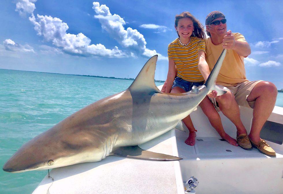 Spinner Shark, Sanibel Island Fishing, Catch & Release, Captiva Island, Sunday, April 7, 2019.