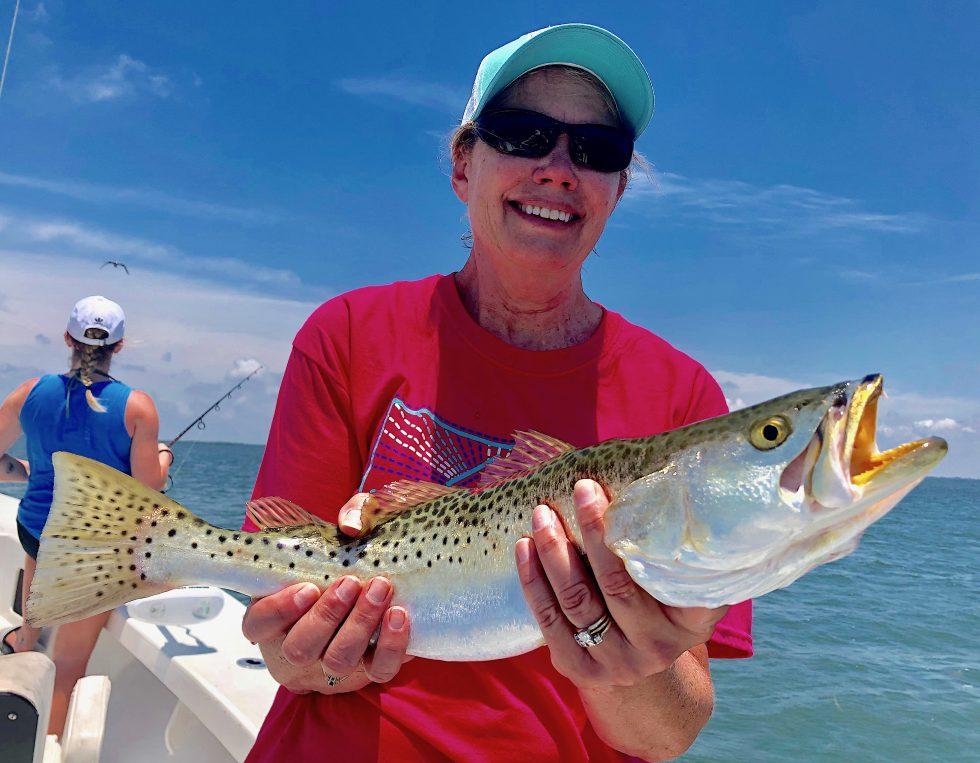 Seatrout, Sanibel Island Fishing, Catch & Release, Captiva Island, Thursday, May 16, 2019.
