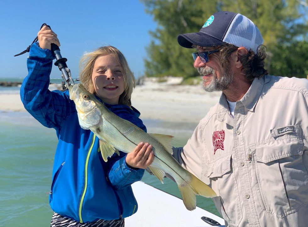 Snook, Sanibel Island Fishing, Catch & Release, Captiva Island, Wednesday, January 1, 2020.