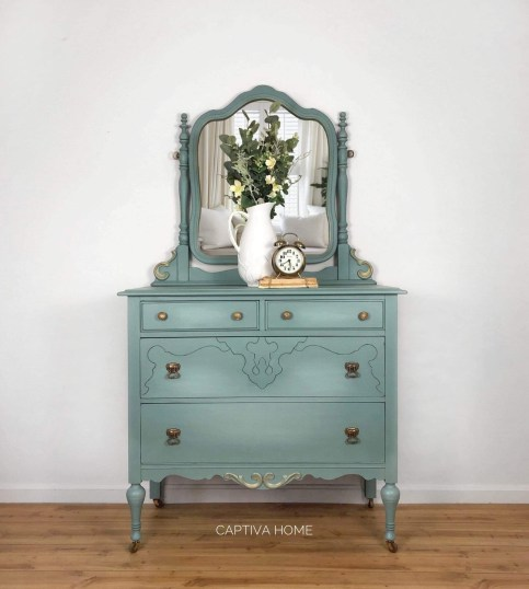 Beautiful Blue Painted Furniture, Blue Painted Furniture Photos