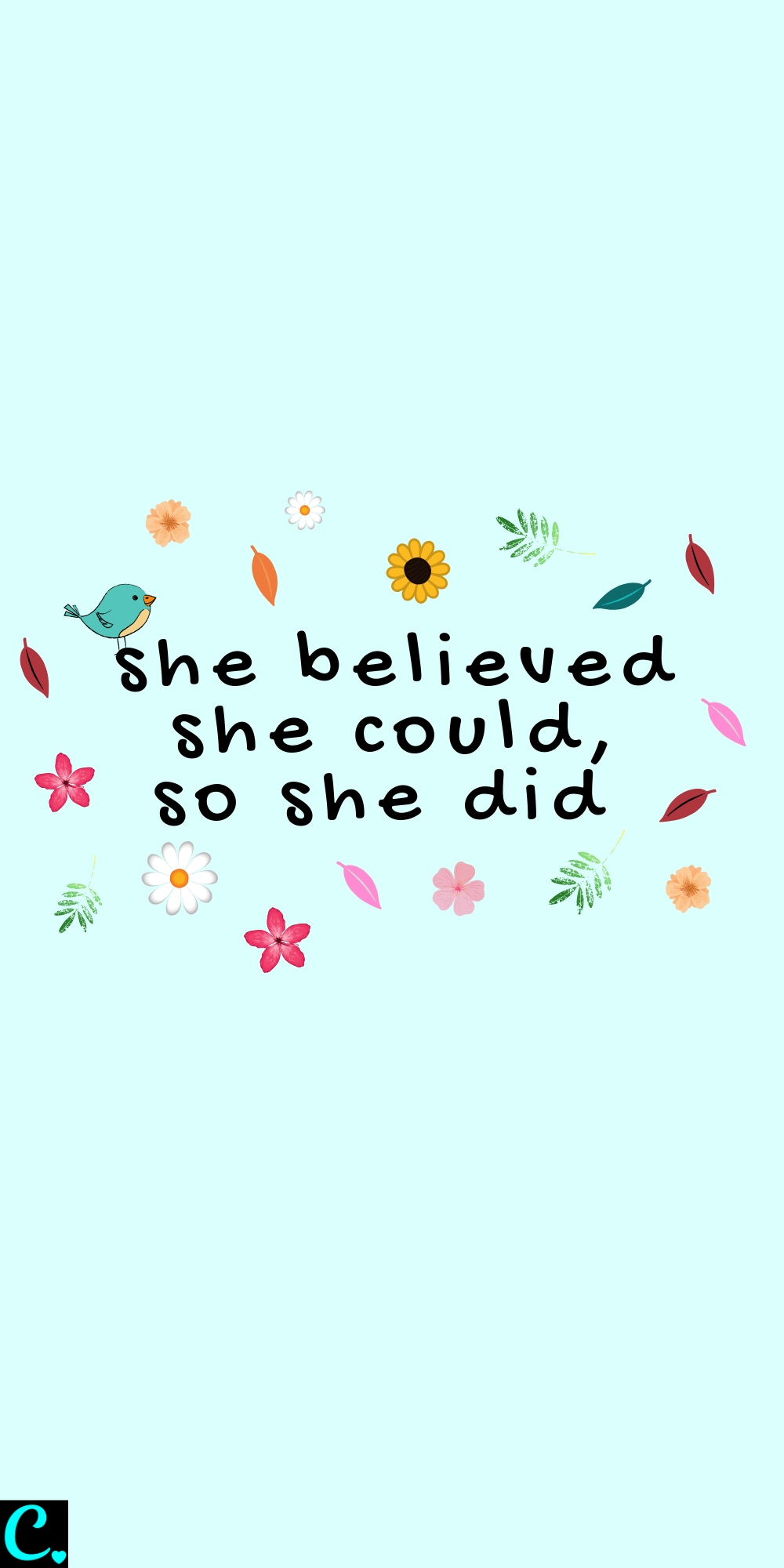 She believed she could so she did! Quotes about success, determination, self-confidence & self-belief #successmindset #successfulwomen #successquotes