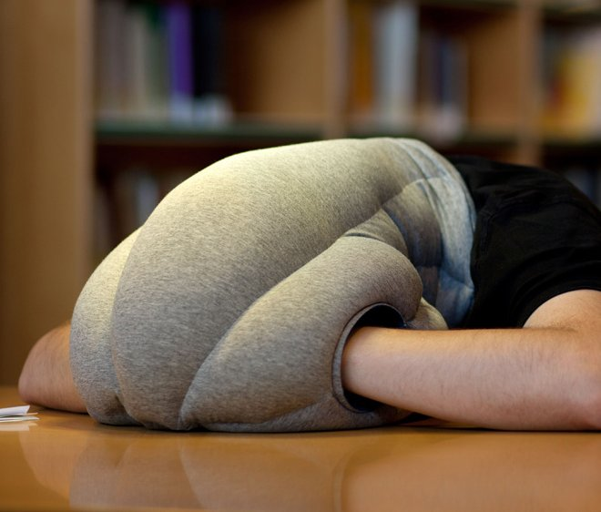 Ostrich Pillow By Studio Banana Blocks Sound And Light