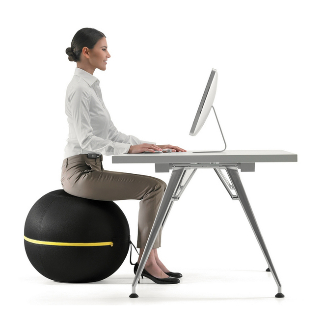 Technogym Ball Chair Makes Sitting A Healthy Activity