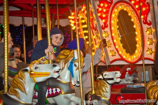 Michael on merry go round