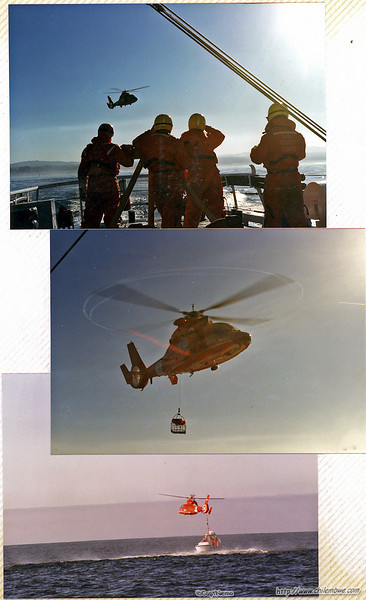 Coast guard rescue training Fort Bragg California