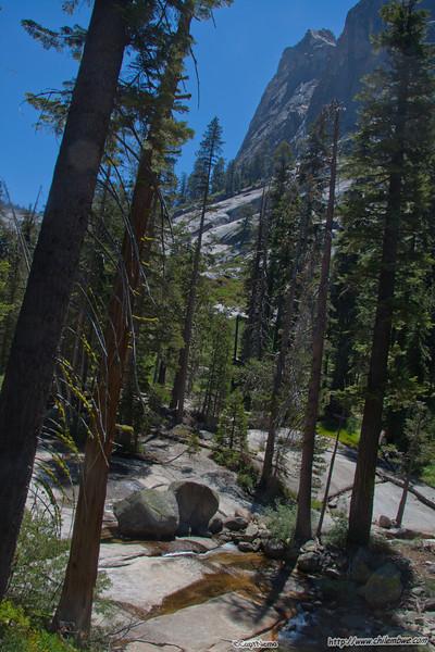 Trail, now where'd all that snow go?