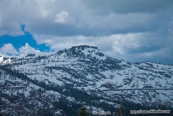 Snow covered peaks