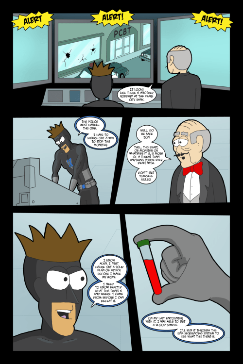 Adventures with Capt'n Heroic: In the Beginning – Page 18