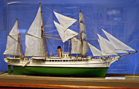 Revenue Cutter Bear - US Coast Guard Museum - Seattle