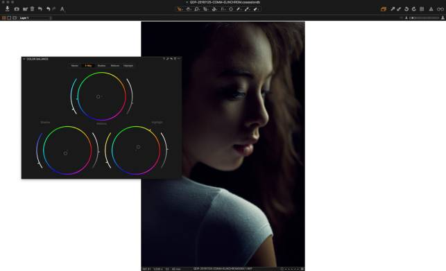 Easy Color Toning retouching in Capture One Pro 10