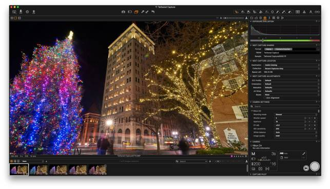 Tethered Capture in Capture One Pro 10