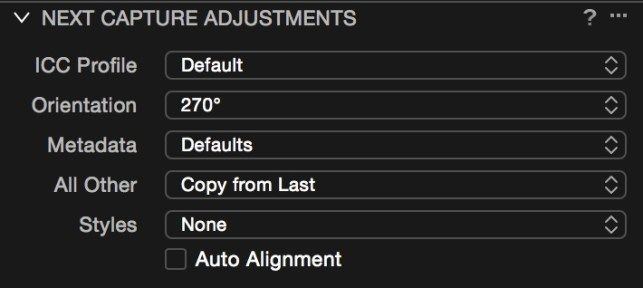 New Features for Tethered Capture in Capture One Pro 9.1