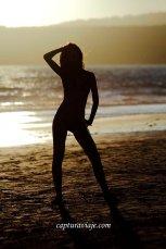 01 - Contraluz - Esperando el atardecer - Playa de Bolonia - Tarifa
