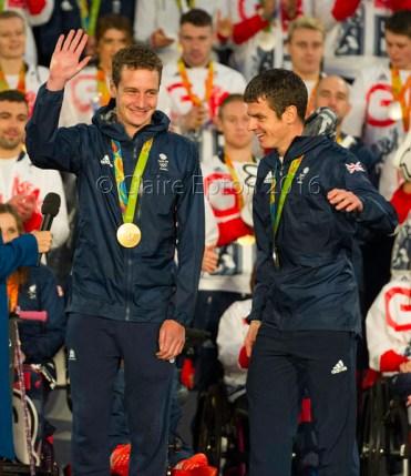 Alistair Brownlee, MBE & Jonny Brownlee