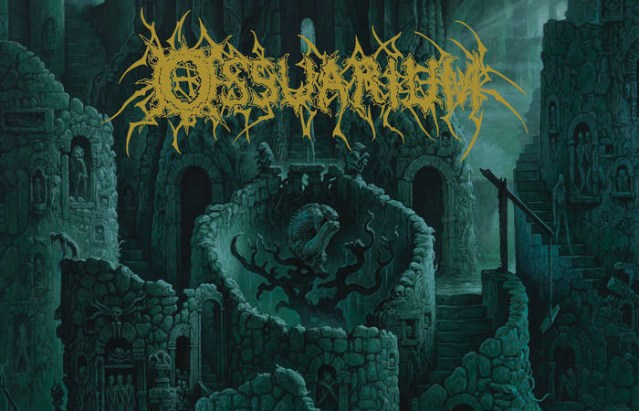 Ossuarium Plummet To The Ugly Depths With Debut Death Metal LP 'Living Tomb'