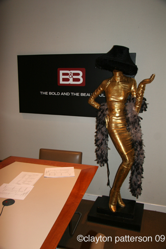 Conference room for the Bold and the Beautiful