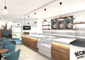 First design concepts for a Metrocentre Café