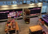 Design of a grocery stores interior
